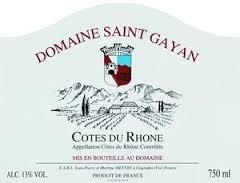 Domaine Saint Gayan - Vacqueyras