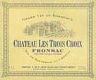 Ch. Les Troix Croix 1998