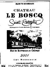 Ch. Le Boscq 2008