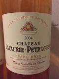 Ch. Lafaurie-Peyraguey 2004