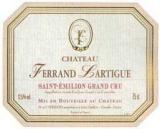 Ch. Ferrand Lartigue 1999