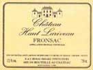 Ch. Haut Larriveau 1996