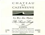 Ch. de Cazeneuve, Pic Saint Loup Le Roc des Mates 2004