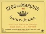 Ch. Lèoville las Cases Clos du Marquis 2006