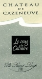 Ch. de Cazeneuve, Pic Saint Loup Le Sang des Calvaires 2004