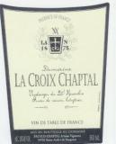Croix Chaptal, Vin naturellement doux blanc 2001, 1 Restfl.