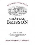 Ch. Brisson 2003, Côtes de Castillon