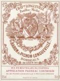 Ch. Pichon Longueville Baron 2005, 2 Restflaschen