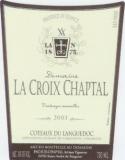 Domaine la Croix Chaptal Cuvée Charles 2005