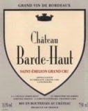 Ch. Barde-Haut 2010