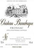 Ch. Barrabaque 2003, Canon Fronsac