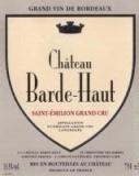 Ch. Barde-Haut, St. Èmilion 2011
