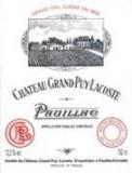 Ch. Grand Puy Lacoste 2003